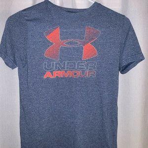 an under armour kids tee shirt for kids
